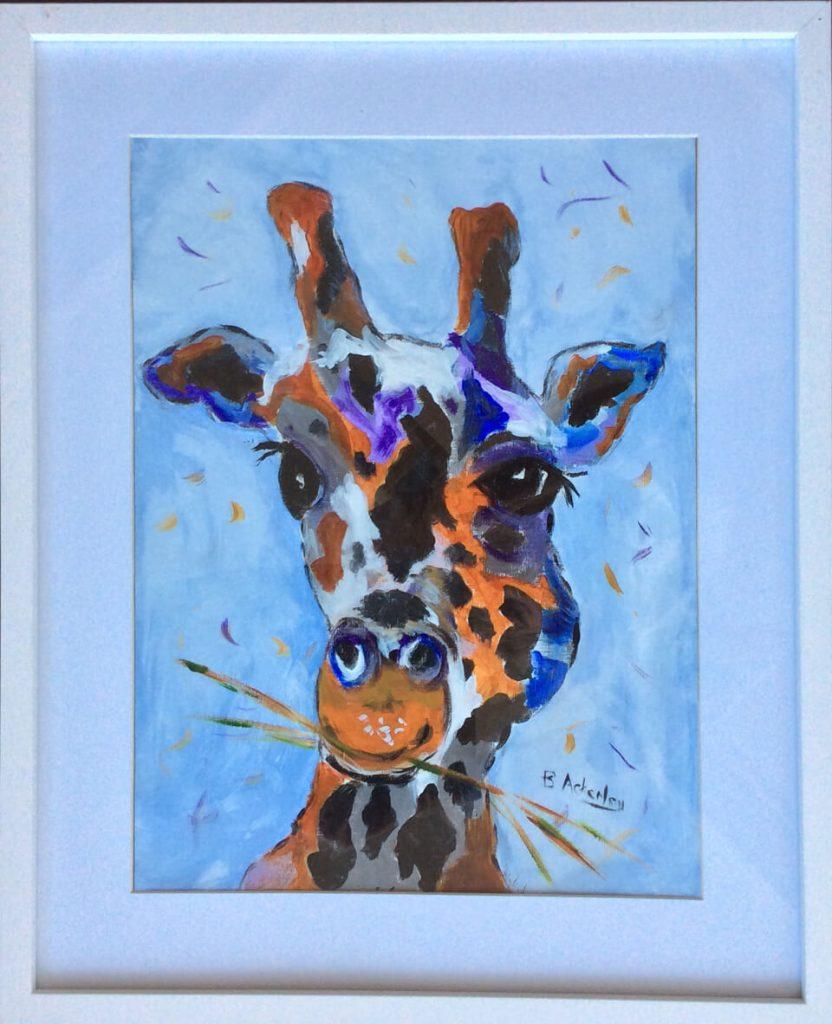 giraffe-print-southport-local-art