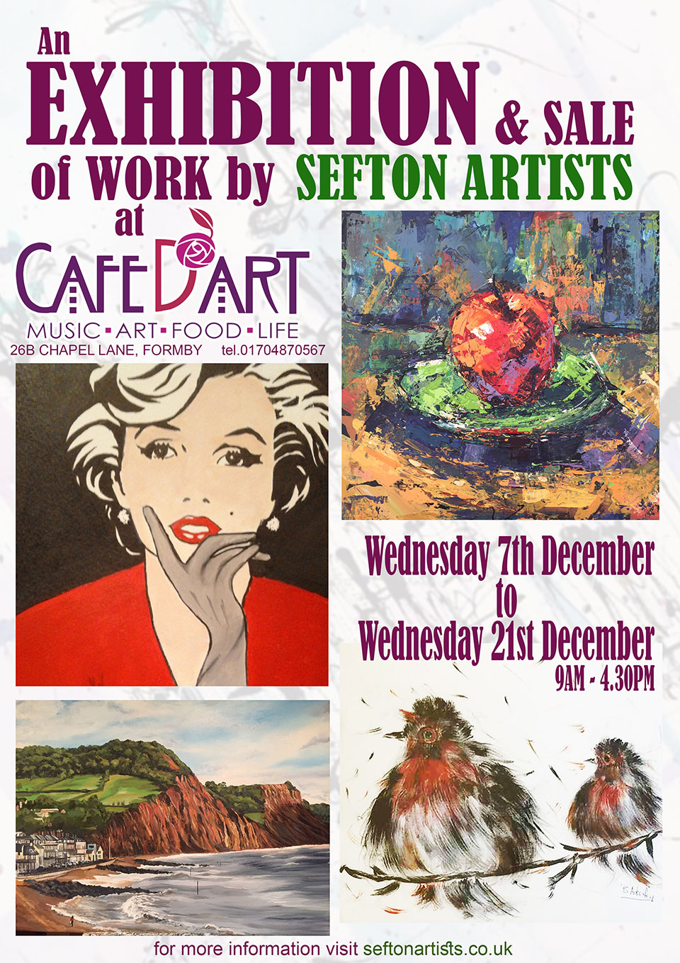 sefton-artists-cafe-poster