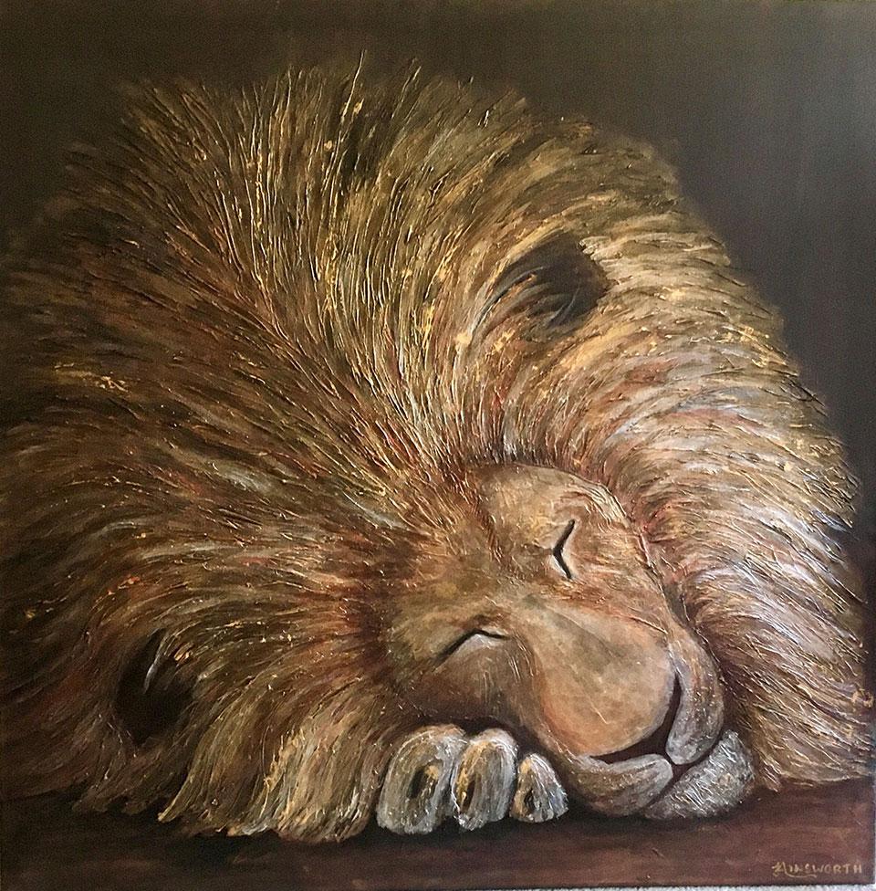 jo-ainsworth-sleeping-lion